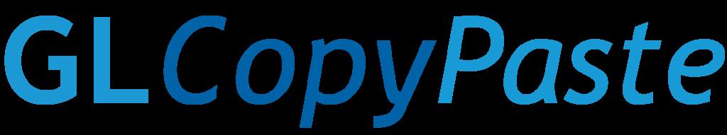 GLCopyPaste_LOGO