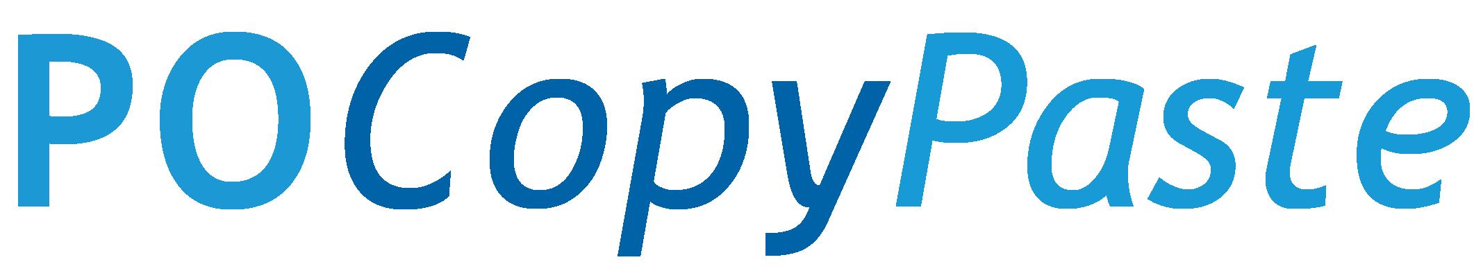 POCopyPaste_LOGO